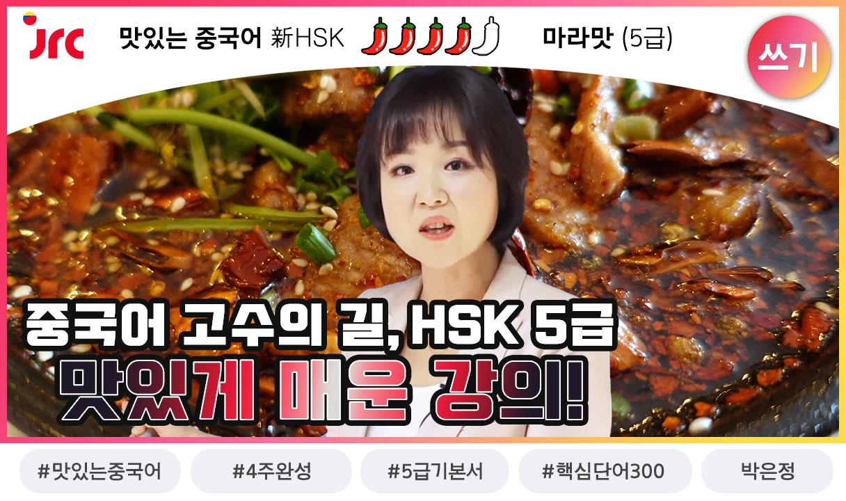 맛있는 중국어 新HSK 5급 쓰기_박은정
